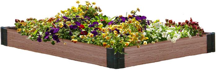 """Подготовиться к дачному сезону вам поможет ограждение для грядки """"Garden Dreams"""".  Изделие изготовлено из высококачественного древесно-полимерного композита, который отличается высокой износостойкостью. С таким ограждением для грядок в вашем саду всегда будет красота и порядок."""