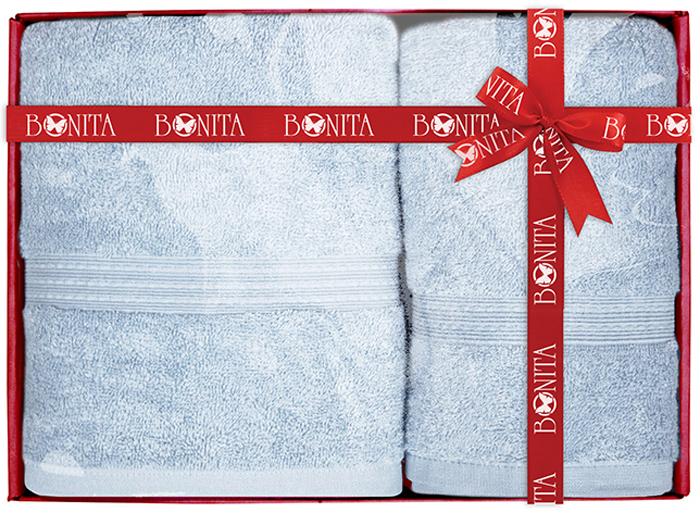"""Набор банных полотенец Bonita """"Classic"""" состоит из 2 махровых полотенец, выполненных из натурального 100% хлопка. Изделия отлично впитывают влагу, быстро сохнут, сохраняют яркость цвета и не теряют формы даже после многократных стирок."""