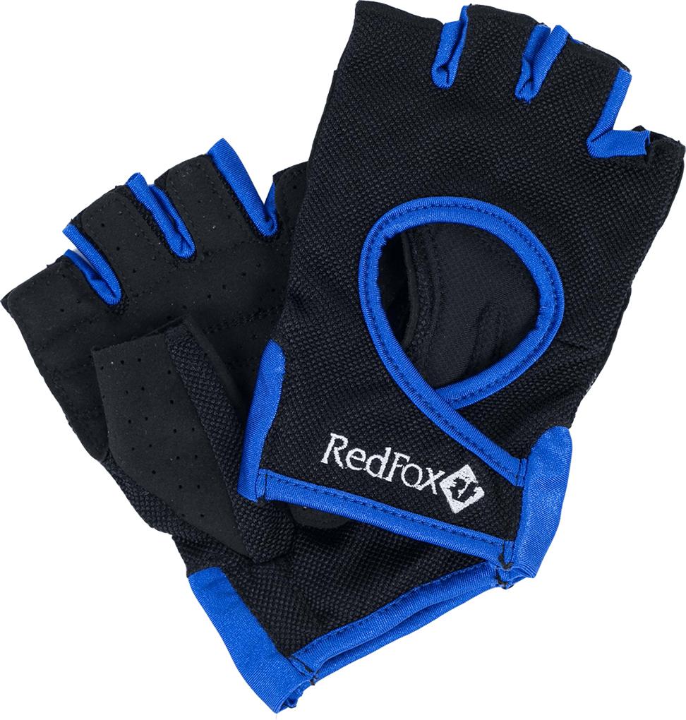 Велоперчатки Red Fox Winner, цвет: черный, синий. Размер S