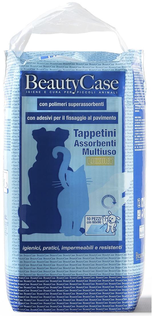 Коврики Beauty Case, впитывающие, для домашних питомцев, с абсорбентом, 60 х 90 см, 10 шт коврики beauty case впитывающие для домашних питомцев 60 х 90 см 10 шт