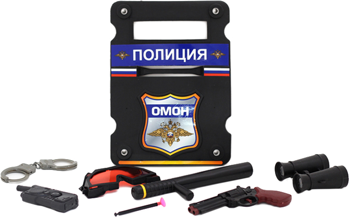 BeBoy Игровой набор Полиция IT100555 игра beboy набор полиция it100555 38x26x3cm