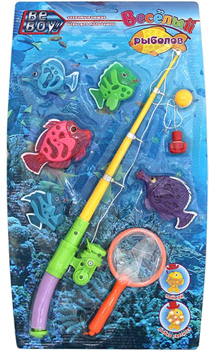 BeBoy Игрушка развивающая Рыбалка цвет в ассортименте IT101108 игра beboy набор полиция it100555 38x26x3cm