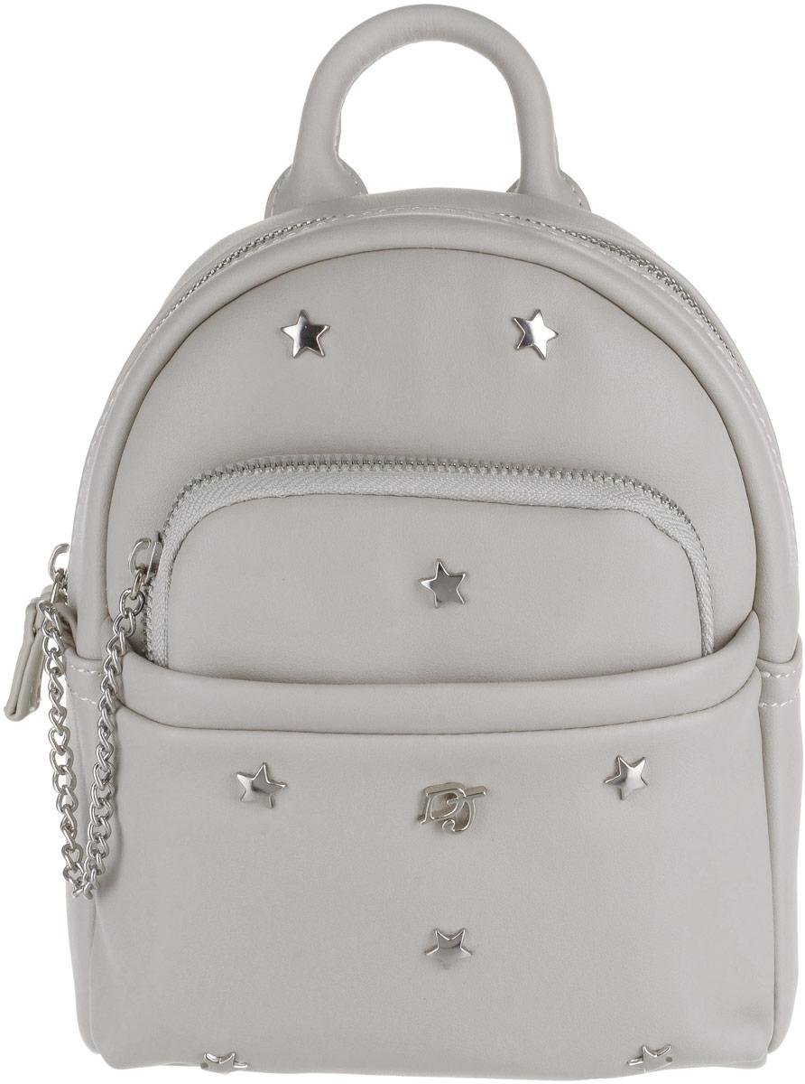 Рюкзак женский David Jones, цвет: серый. CM3701 L.GREY рюкзак david jones david jones da919bwbkev7