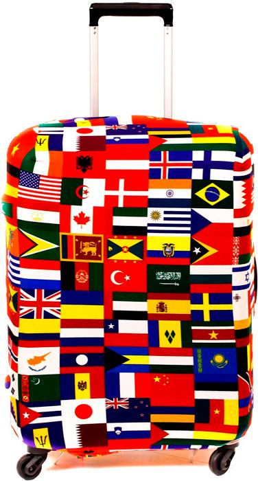 Чехол для чемодана Fancy Armor Travel Suit Eco. Интернациональ, размер XL (65-75 см)