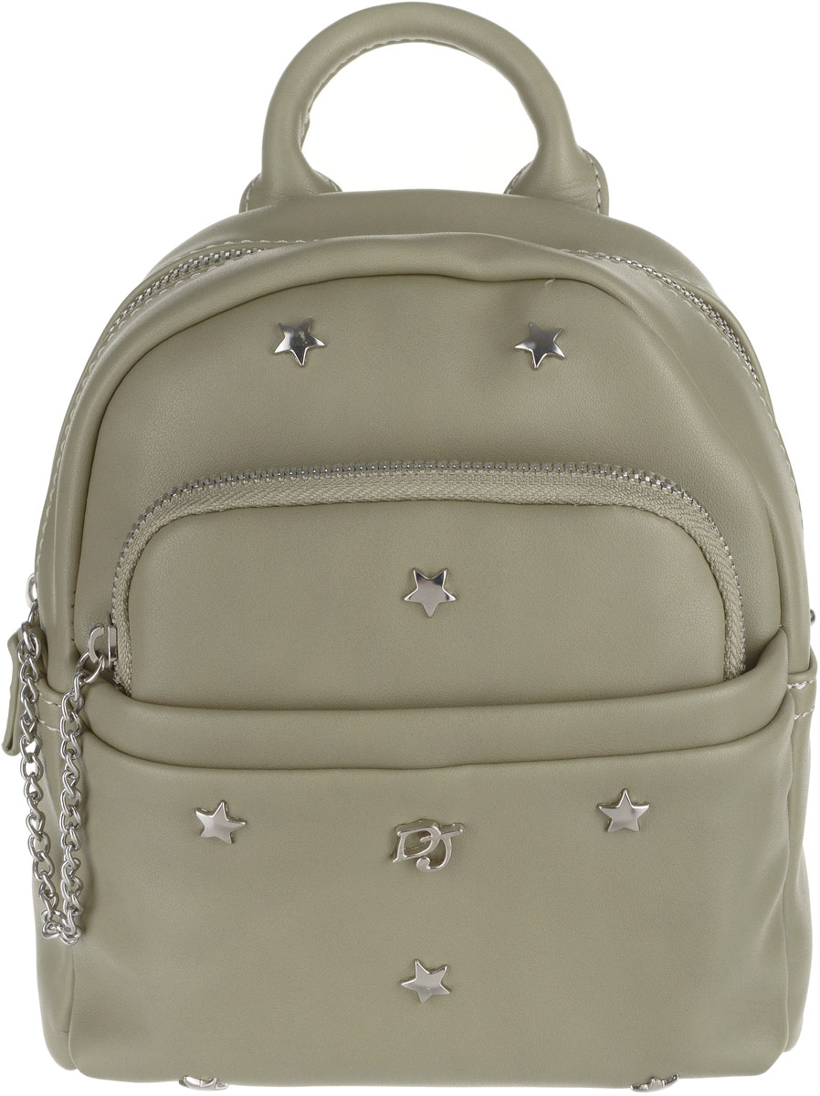 Рюкзак женский David Jones, цвет: хаки. CM3701 KHAKI