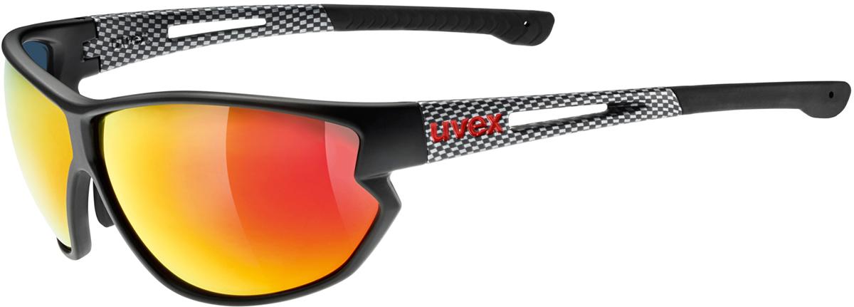 Велосипедные очки Uvex Sportstyle 810, цвет: черный