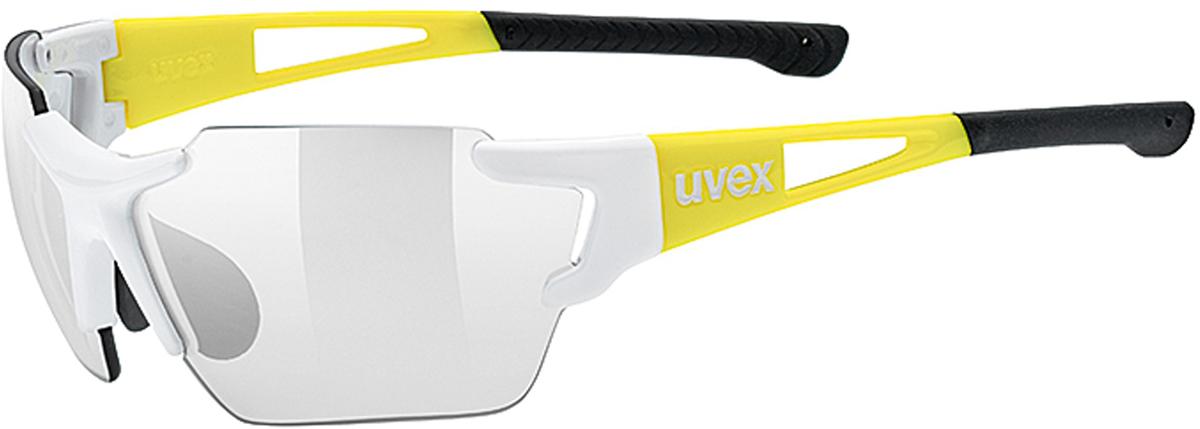 Велосипедные очки Uvex Sportstyle 803 Race Vm Small, цвет: белый, желтый