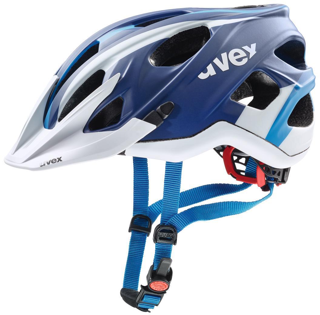 Шлем защитный Uvex Stivo Cc, цвет: синий, белый. Размер S-L