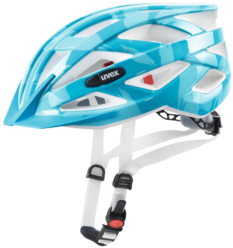 Шлем защитный Uvex I-Vo C, цвет: голубой. Размер S-L