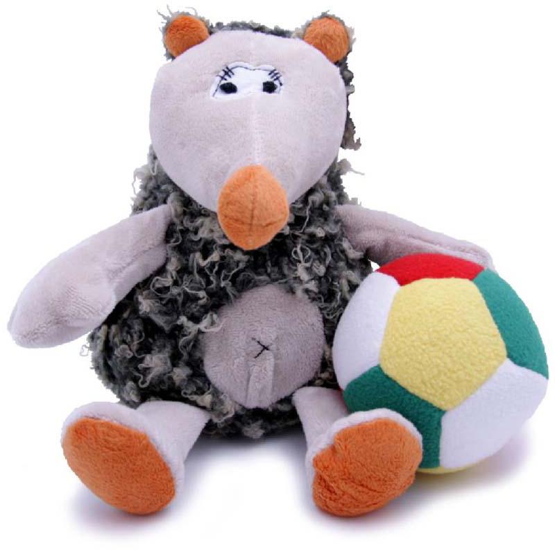 Magic Bear Toys Мягкая игрушка Ежик Кельвин с мячом 23 см