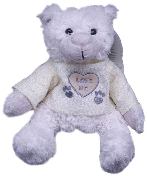 Magic Bear Toys Мягкая игрушка Мишка Вильгельм в свитере 20 см magic bear toys мягкая игрушка медведь с заплатками в шарфе цвет коричневый 120 см
