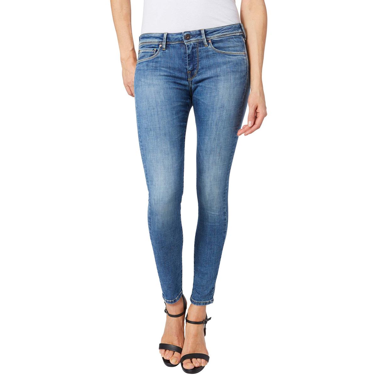 Джинсы женские Pepe Jeans Lola, цвет: сине-голубой. 097.PL201073.GE1.000. Размер 34-30 (52-30)