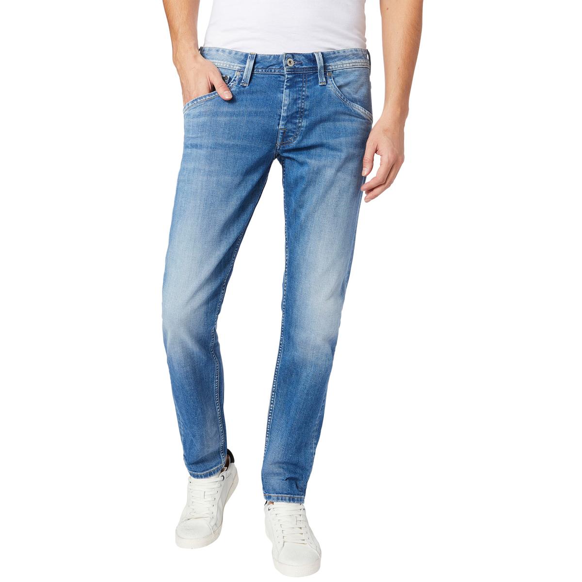 Джинсы мужские Pepe Jeans Kolt, цвет: синий. 097.PM201053.GC9.000. Размер 36-32 (52-32)