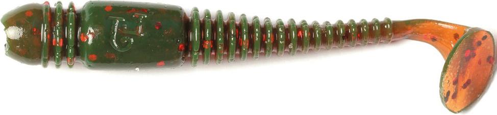 Виброхвост LJ Pro Series Tioga 2.0in, длина 50 мм, 10 шт. 140102-085