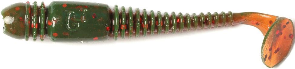 Виброхвост LJ Pro Series Tioga 2.4in, длина 62 мм, 9 шт. 140119-085