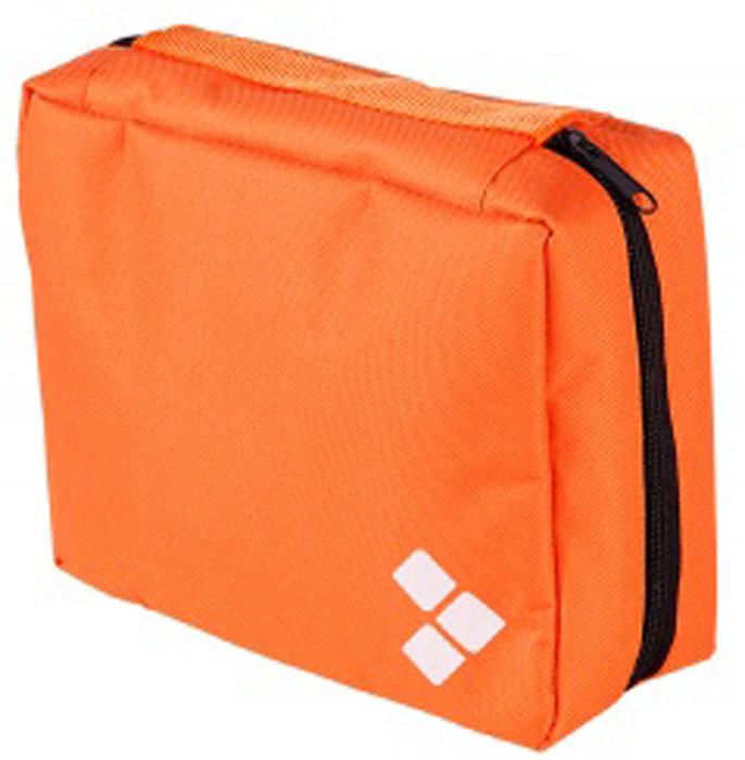 Косметичка дорожная Routemark, цвет: оранжевый