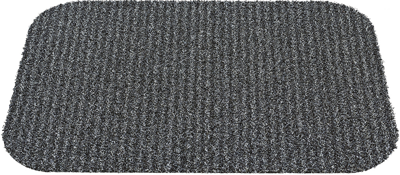 Коврик придверный Gardman Charcoal Stripe, цвет: серый, 45 х 65 см gardman коврик придверный charcoal stripe 65х45 см серый 82449 gardman