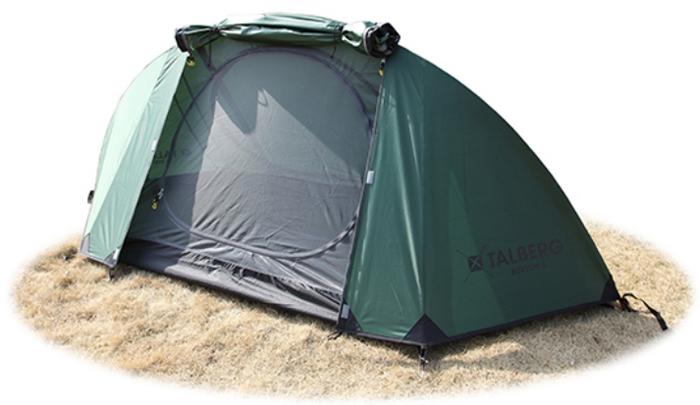 Палатка Talberg Burton 1, цвет: зеленый палатка talberg borneo 2 green