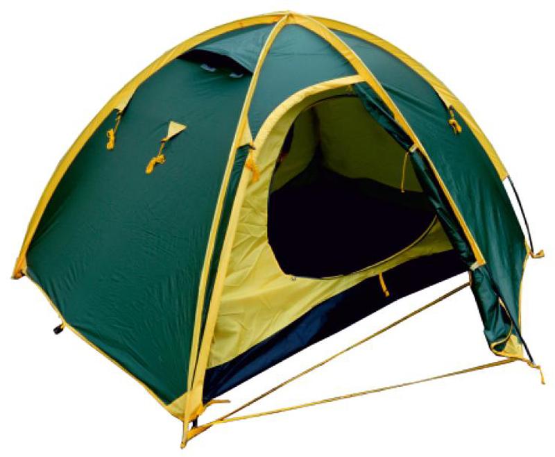 Палатка Talberg Space 2, цвет: зеленый катушка безынерционная salmo diamond spin 6 30fd
