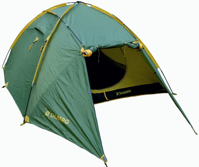 Палатка Talberg Trapper 2, цвет: зеленый палатка talberg borneo 2 green