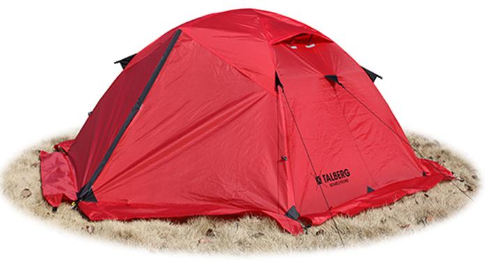 Палатка Talberg Boyard Pro 3 R, цвет: красный палатка talberg borneo 2 green