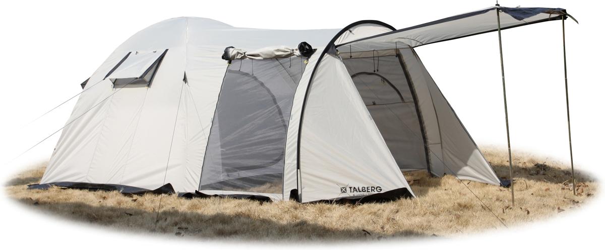 Палатка Talberg Blander 4 S, цвет: серый
