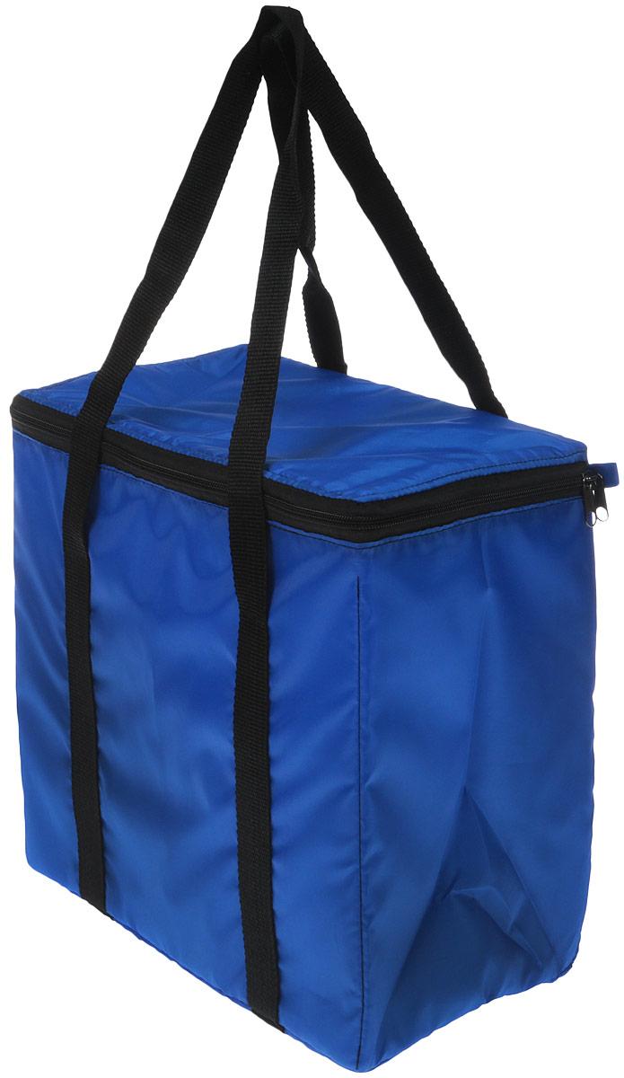 Термосумка Eva, цвет: синий, 30 х 19 х 29 см ящик рыболова рост 40 см х 19 см х 29 см 2447