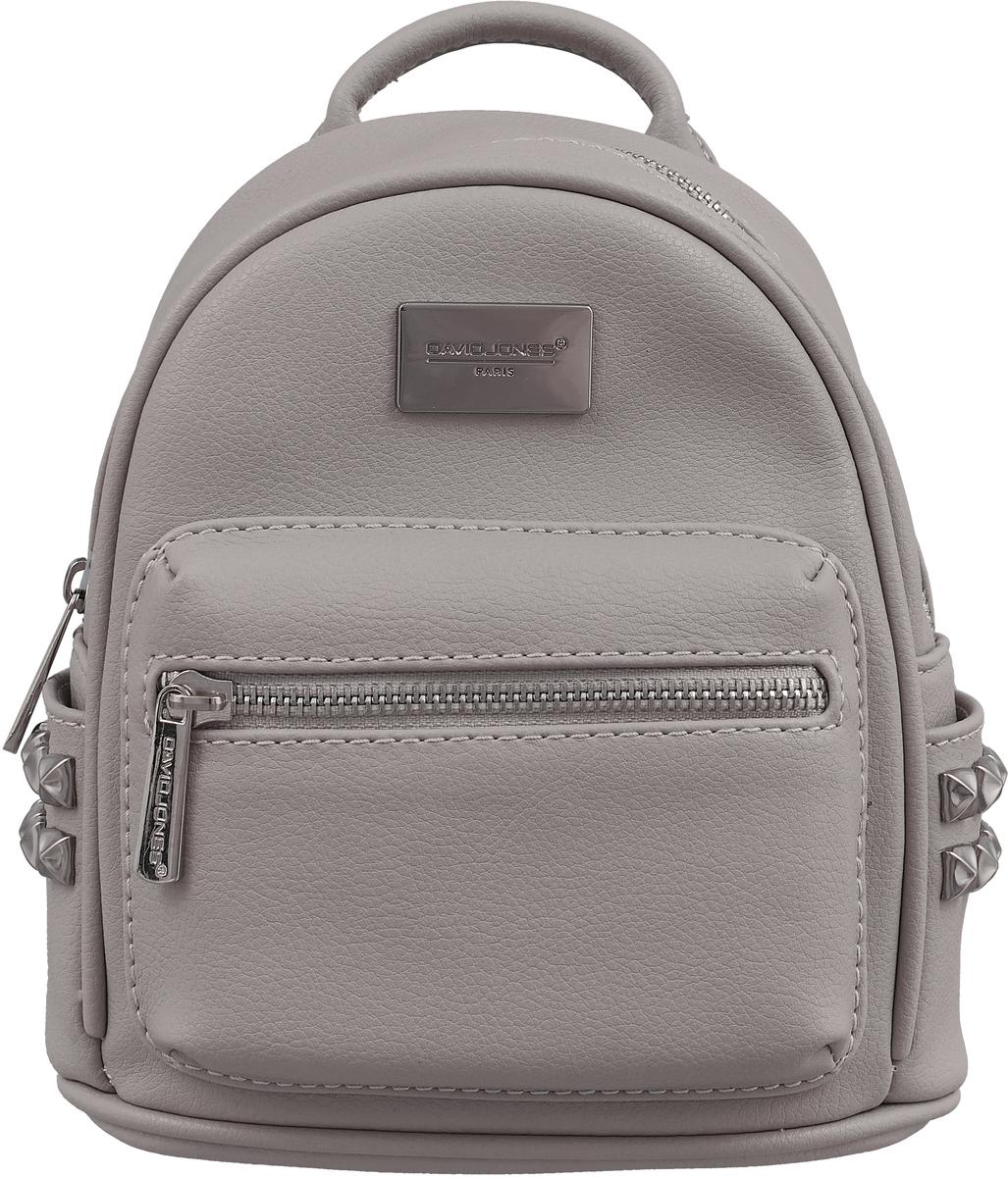 Рюкзак женский David Jones, цвет: серый. CM3657A/L.GREY david baddiel aylesbury