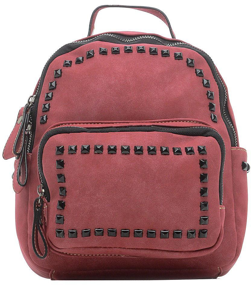 Рюкзак для девочки Vitacci, цвет: бордовый. 1000001013