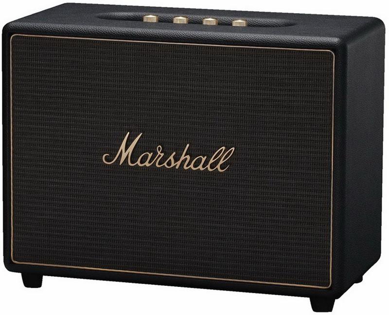 Marshall Woburn Multi-Room, Black беспроводная акустическая система колонки marshall kilburn beige