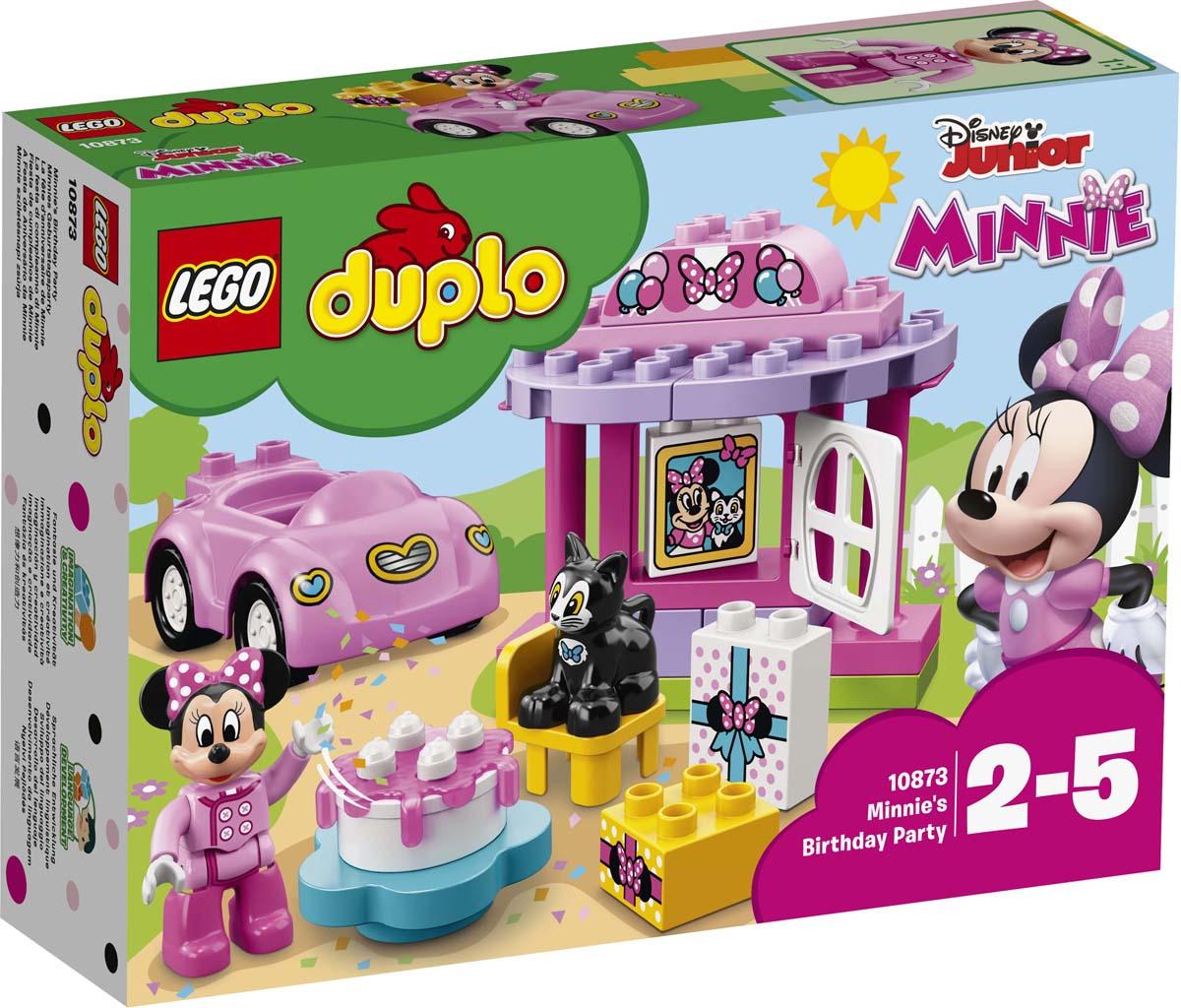 LEGO DUPLO Disney Конструктор День рождения Минни 10873 disney аппликация пайетками самой модной минни маус