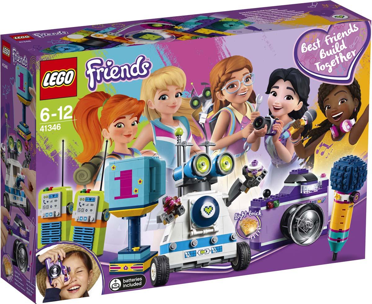 LEGO Friends Конструктор Шкатулка дружбы 41346 lego friends конструктор шкатулка дружбы 41346