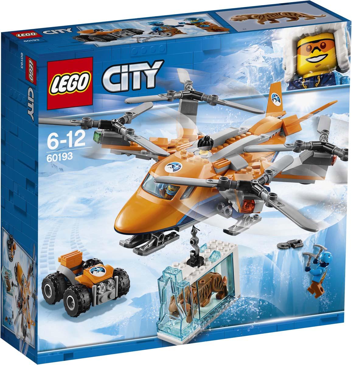 все цены на LEGO City Arctic Expedition Конструктор Арктический вертолет 60193