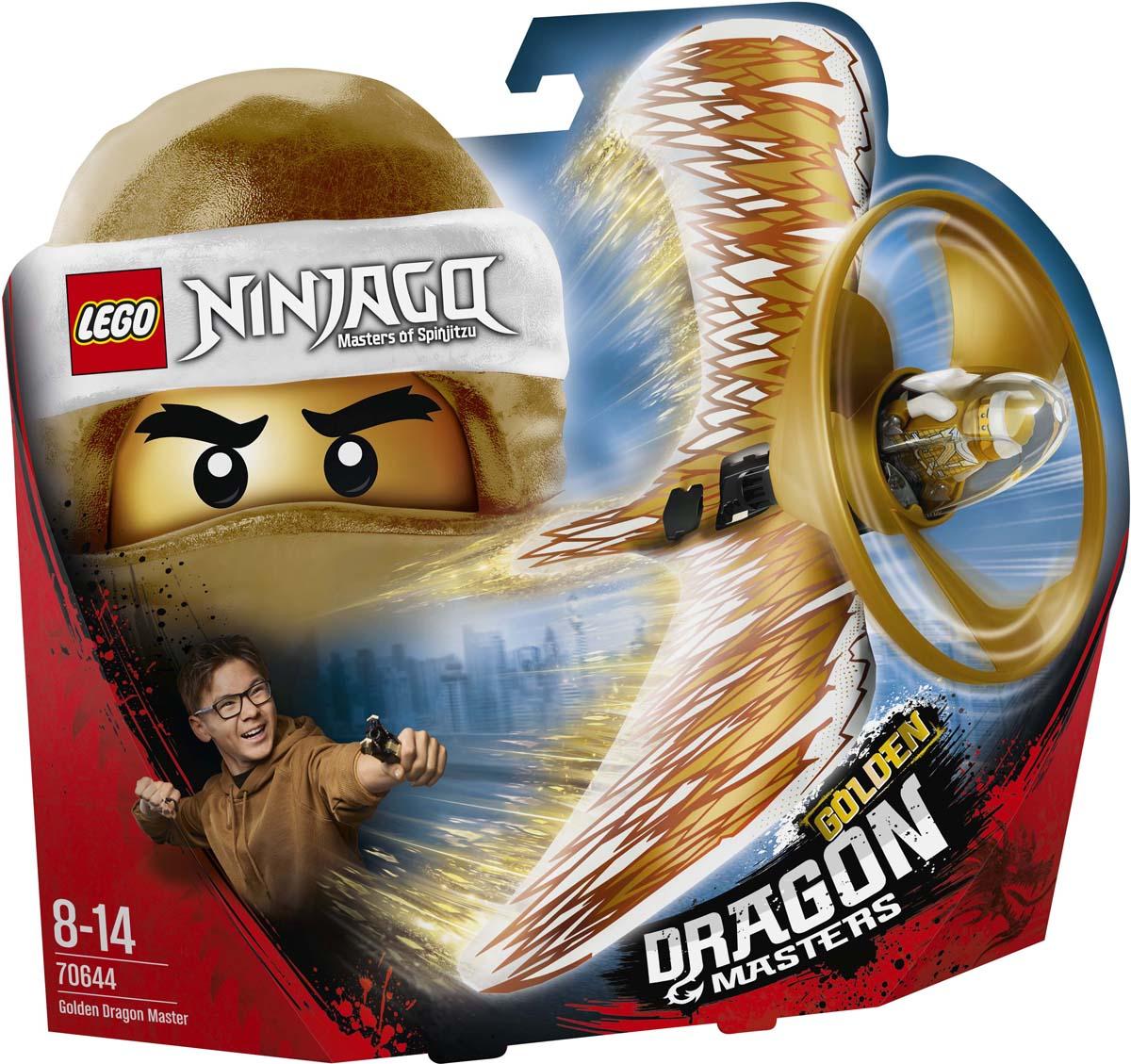 LEGO Ninjago Конструктор Мастер Золотого дракона 70644 как приручить дракона книга 2 как стать пиратом