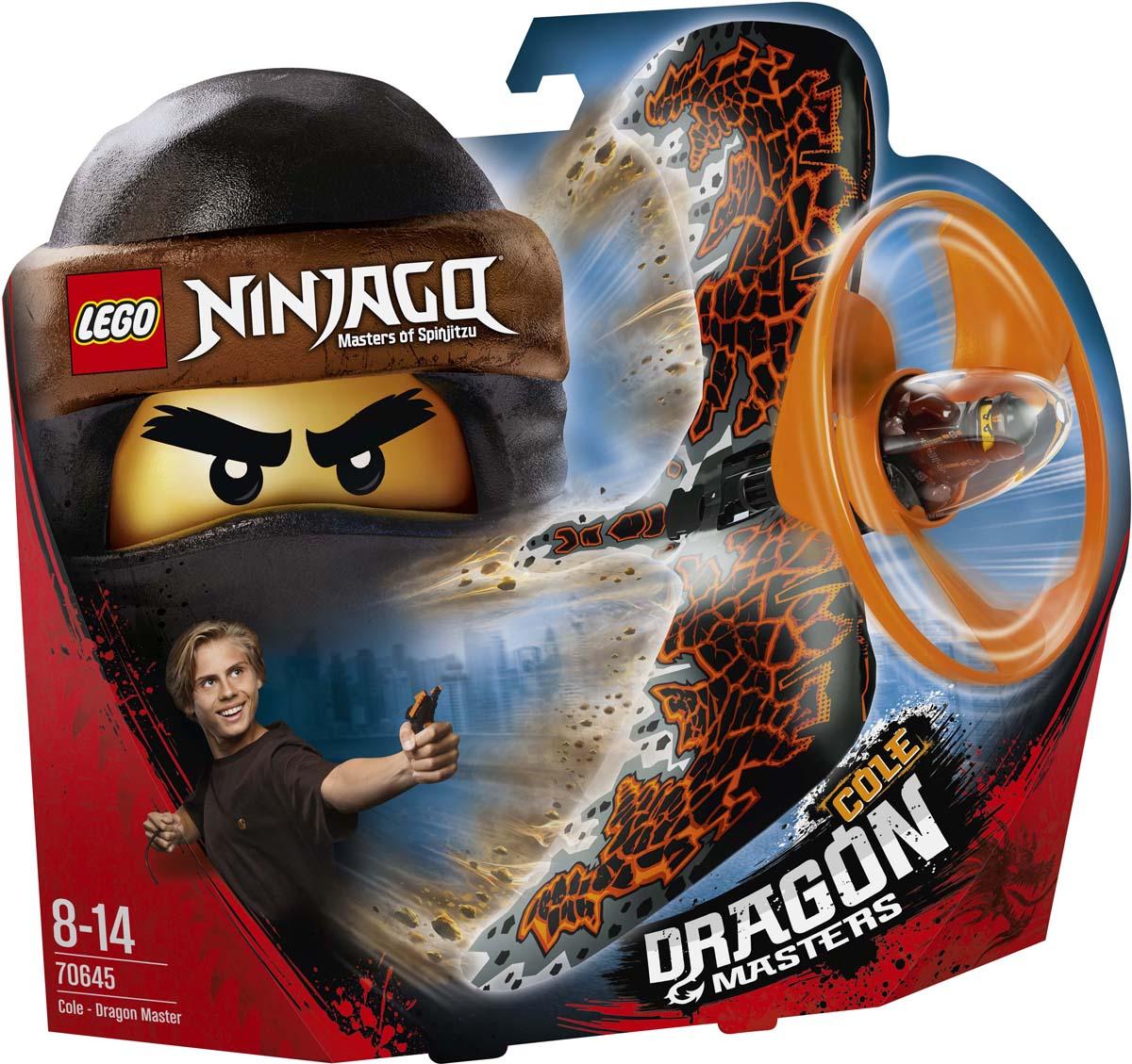 LEGO Ninjago Конструктор Коул — Мастер дракона 70645 как приручить дракона книга 2 как стать пиратом