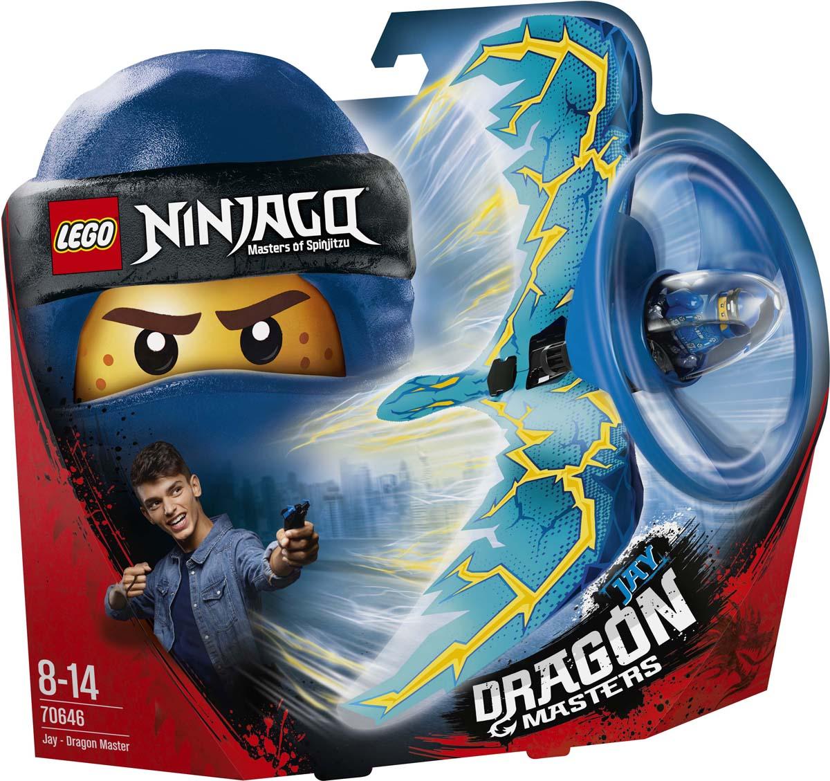 LEGO Ninjago Конструктор Джей — Мастер дракона 70646 lego ninjago джей мастер дракона 70646