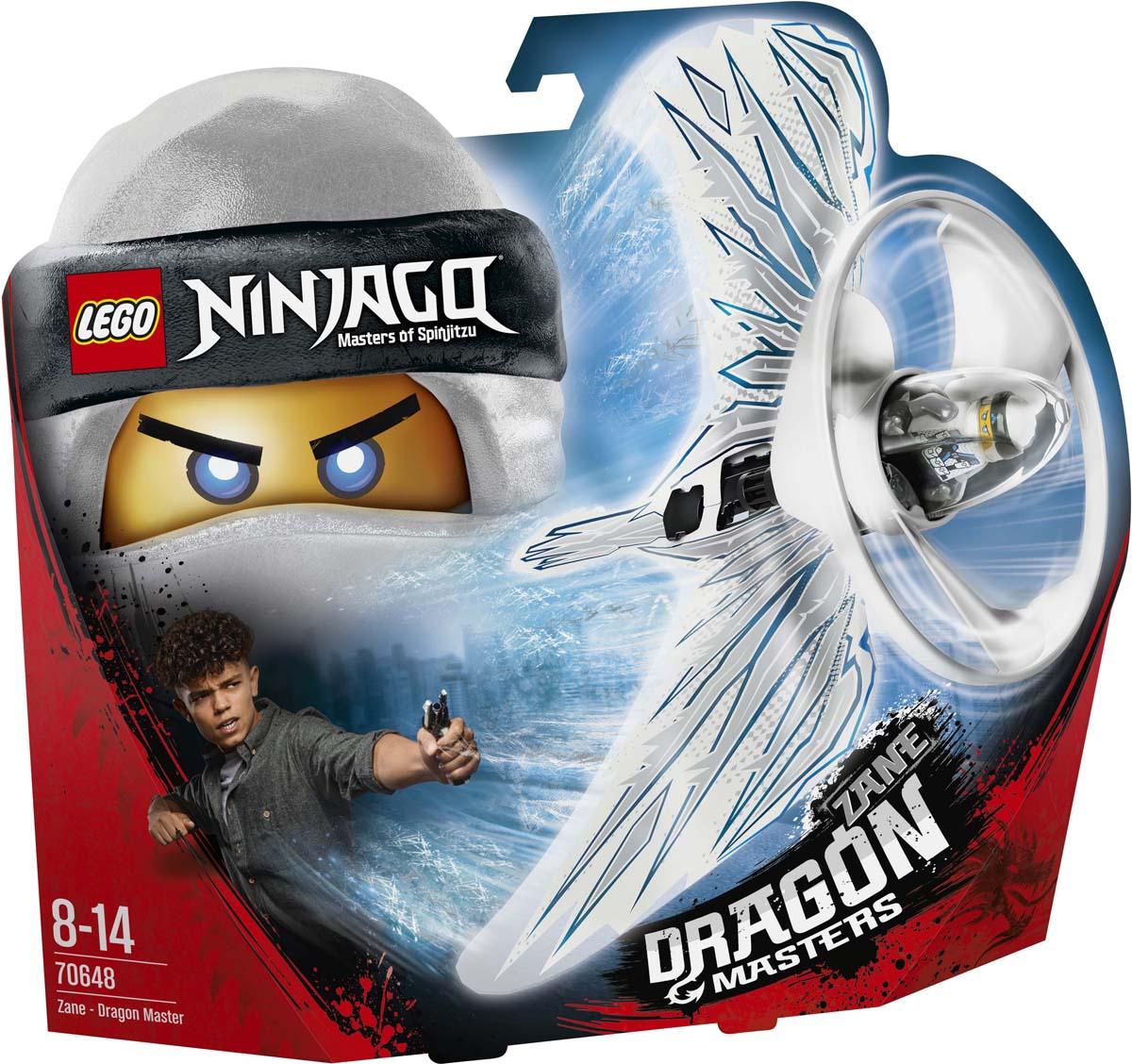 LEGO Ninjago Конструктор Зейн — Мастер дракона 70648 как приручить дракона книга 2 как стать пиратом