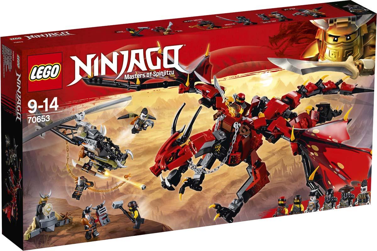 LEGO Ninjago Конструктор Первый страж 70653 lego ninjago первый страж 70653