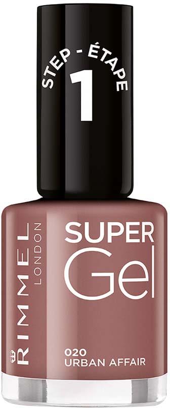 Rimmel Super Gel Гель-лак для ногтей тон 020, 12 мл гель отбеливающий 1 all systems super whitening gel 237 мл