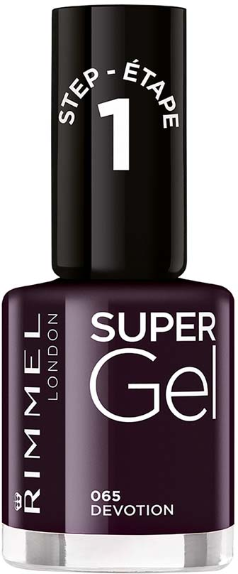 Rimmel Super Gel Гель-лак для ногтей тон 065, 12 мл гель лак для ногтей rimmel super gel nail polish