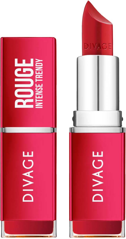 DIVAGE Губная помада Rouge № 07, 26 г7017313С помадой Rouge любой образ станет еще более ярким, выразительным и женственным! Высокая концентрация пигментов для яркого цвета в одно касание. Сатиновый финиш сделает макияж губ особенно притягательным. Отличная водостойкая формула позволит сохранить яркий цвет твоих губ надолго. Формула на 85 % состоит из продуктов растительного происхождения.