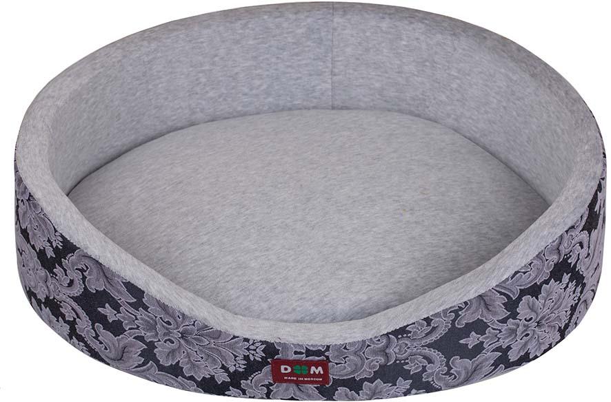 Лежак для животных Dogmoda Классика. Грей, 55 х 43 х 15 см