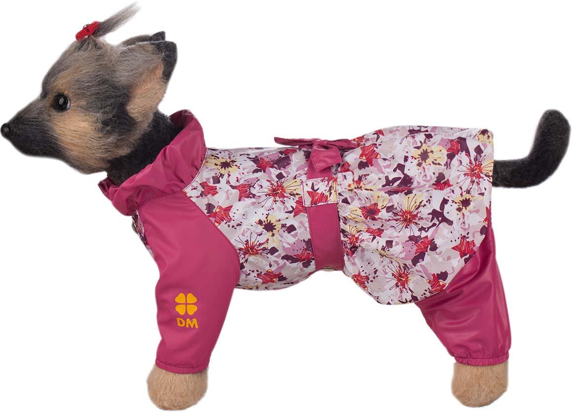 """Комбинезон для собак Dogmoda """"Настроение. Цветы"""", для девочки. Размер L"""