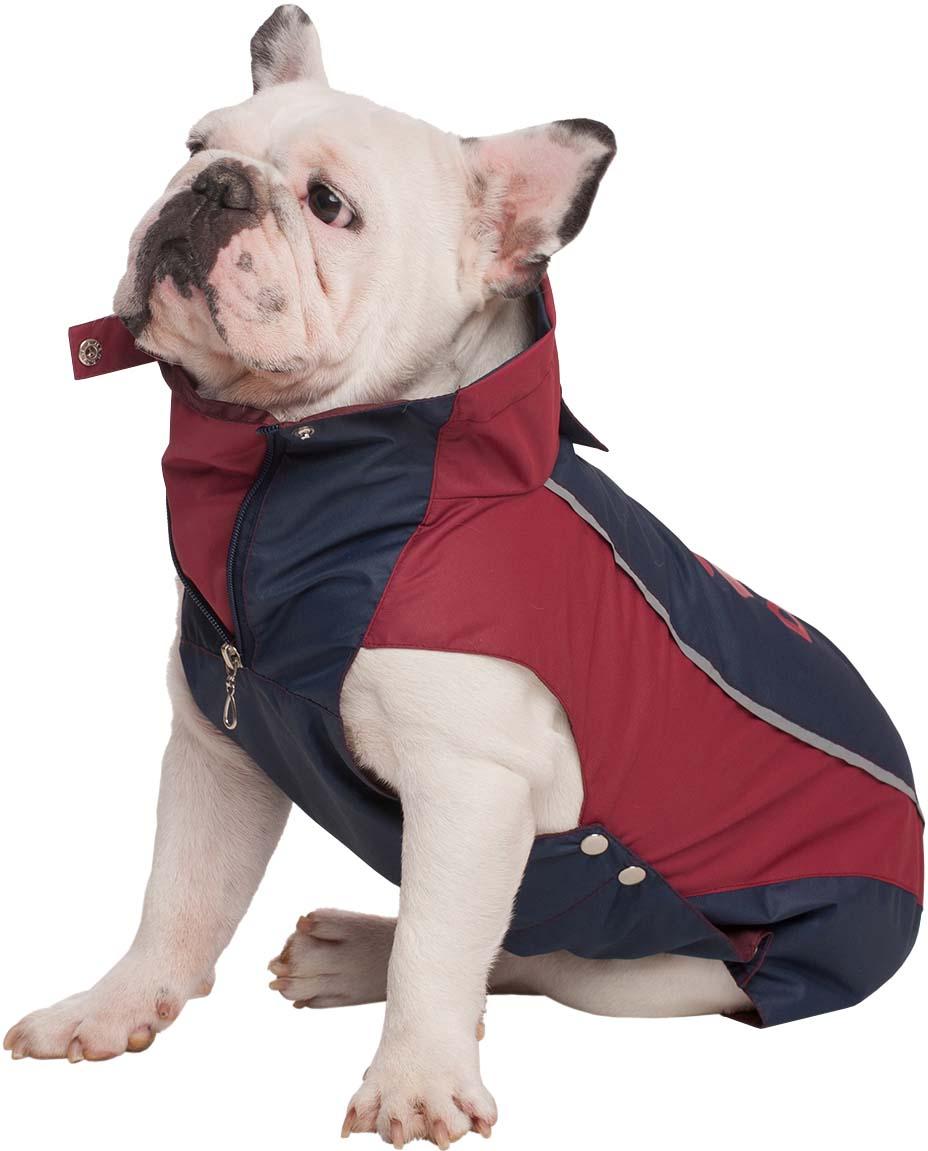 """Попона для собак Dogmoda """"Doggs. Лайт"""", унисекс, цвет: бордовый. Размер XL"""