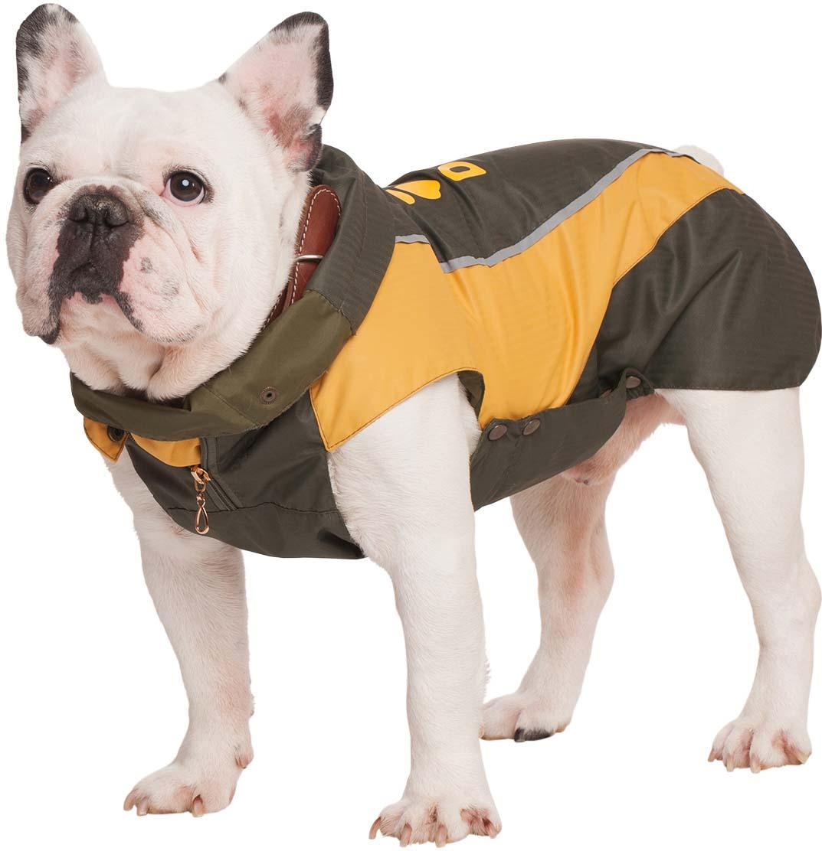 "Попона для собак Dogmoda ""Doggs. Лайт"", унисекс, цвет: желтый. Размер S"
