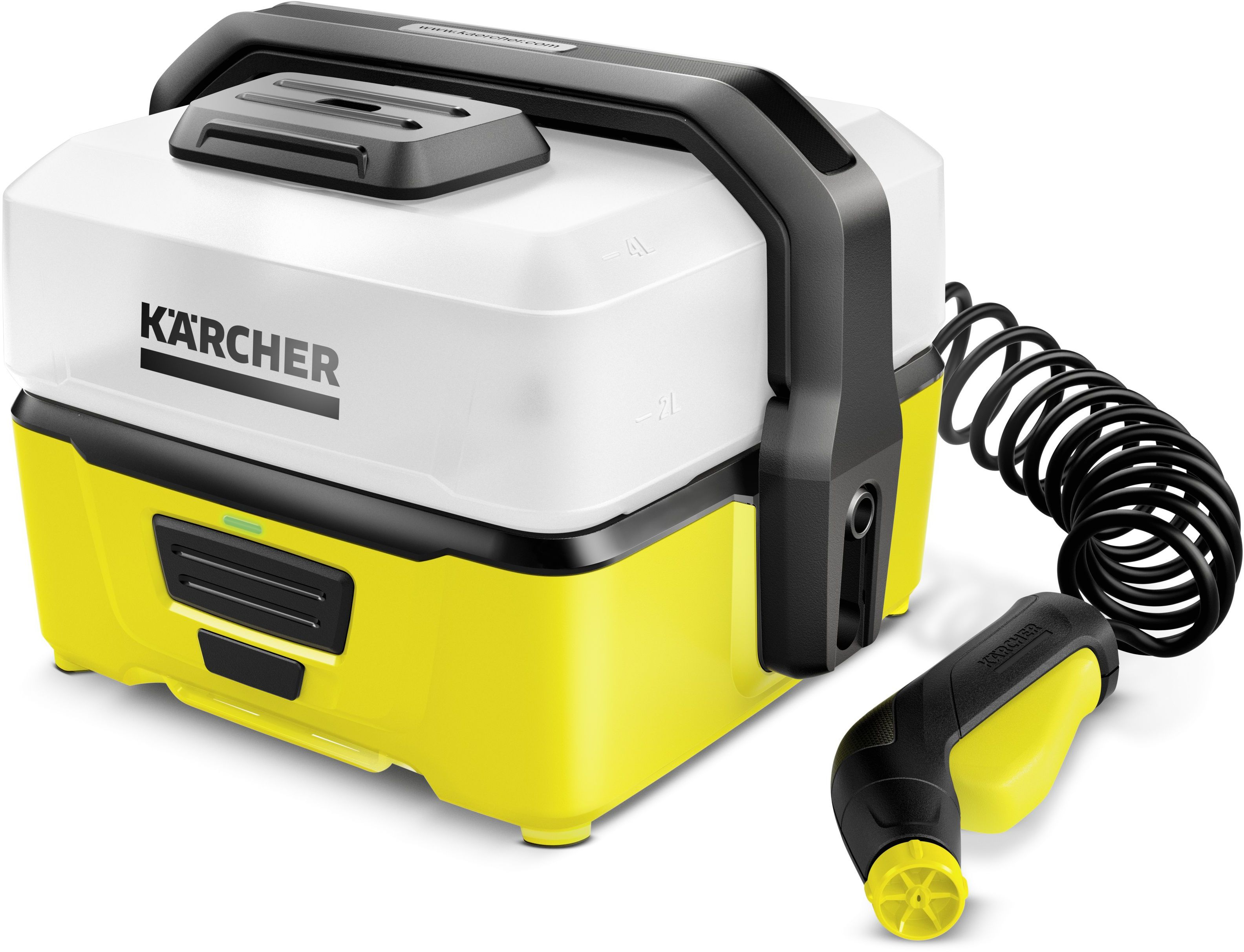 Очиститель портативный Karcher OC 3 портативный оральный water jet dental irrigator flosser зубов spa очиститель для путешествий