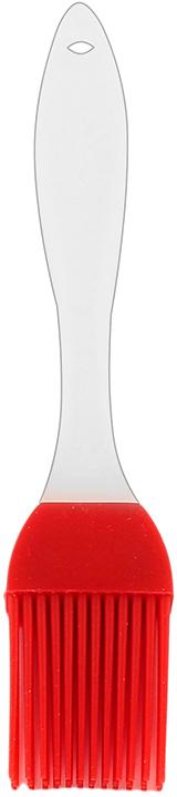"""Кисточка кулинарная """"Elan Gallery"""" изготовлена из высококачественного  пищевого силикона, который способен выдержать высокие температуры. Ручка выполнена из пластика и оснащена отверстием, за которое вы сможете подвесить изделие в любое удобное для вас место. Кисточка не царапает поверхность. Щетина не склеивается и не оставляет волосков.  Высокая теплоустойчивость силикона позволяет кисточке соприкасаться с нагретыми  до высоких температур поверхностями. С помощью такого аксессуара вы сможете  равномерно смазать противень или сковороду маслом, нанести глазурь или масло на  выпечку.  Кулинарная кисточка """"Elan Gallery"""" станет прекрасным дополнением к коллекции  ваших кухонных аксессуаров.  Длина кисточки: 18 см.  Длина ворсинок: 3,5 см."""