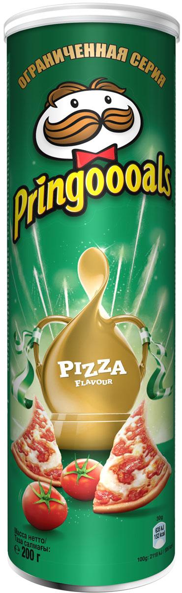 Pringles Картофельные чипсы со вкусом пиццы, 200 г гусарова ред 400 любимых стихов