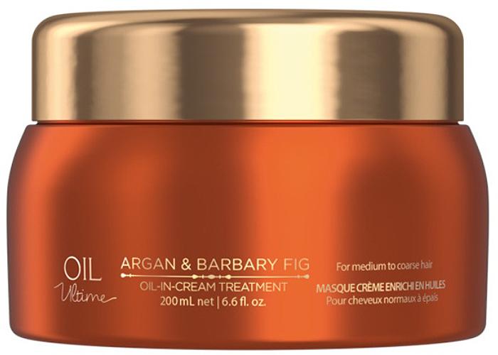 Schwarzkopf Professional Маска для жестких и средних волос Oil Ultime, 200 мл маска schwarzkopf professional oil miracle barbary fig oil