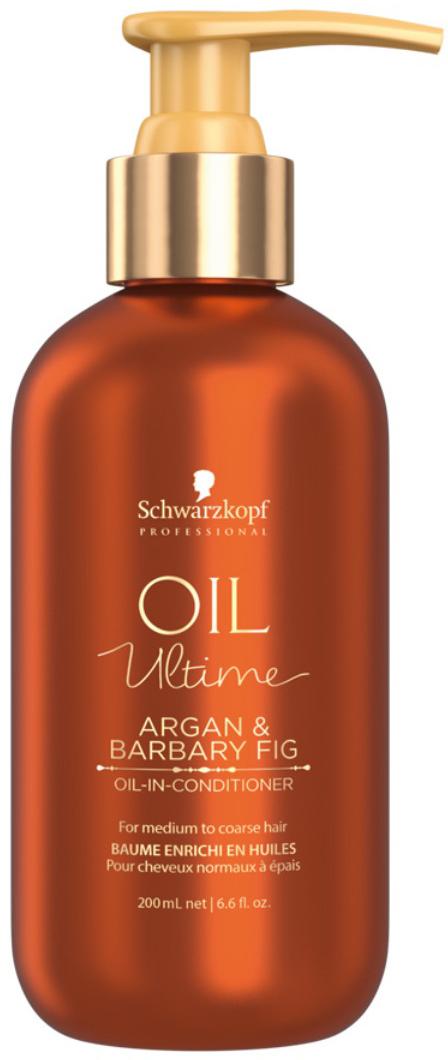 Schwarzkopf Professional Кондиционер для жестких и средних волос Oil Ultime, 200 мл маска schwarzkopf professional oil miracle barbary fig oil